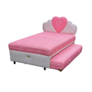 TWIN HELLO KITTY CLASSIC - BIGLAND SPRINGBED